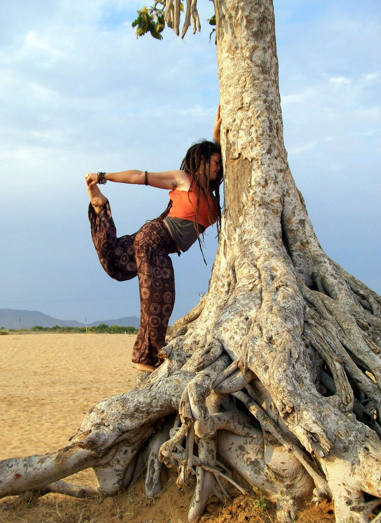 yoga poses1 Desert Yoga Exercise