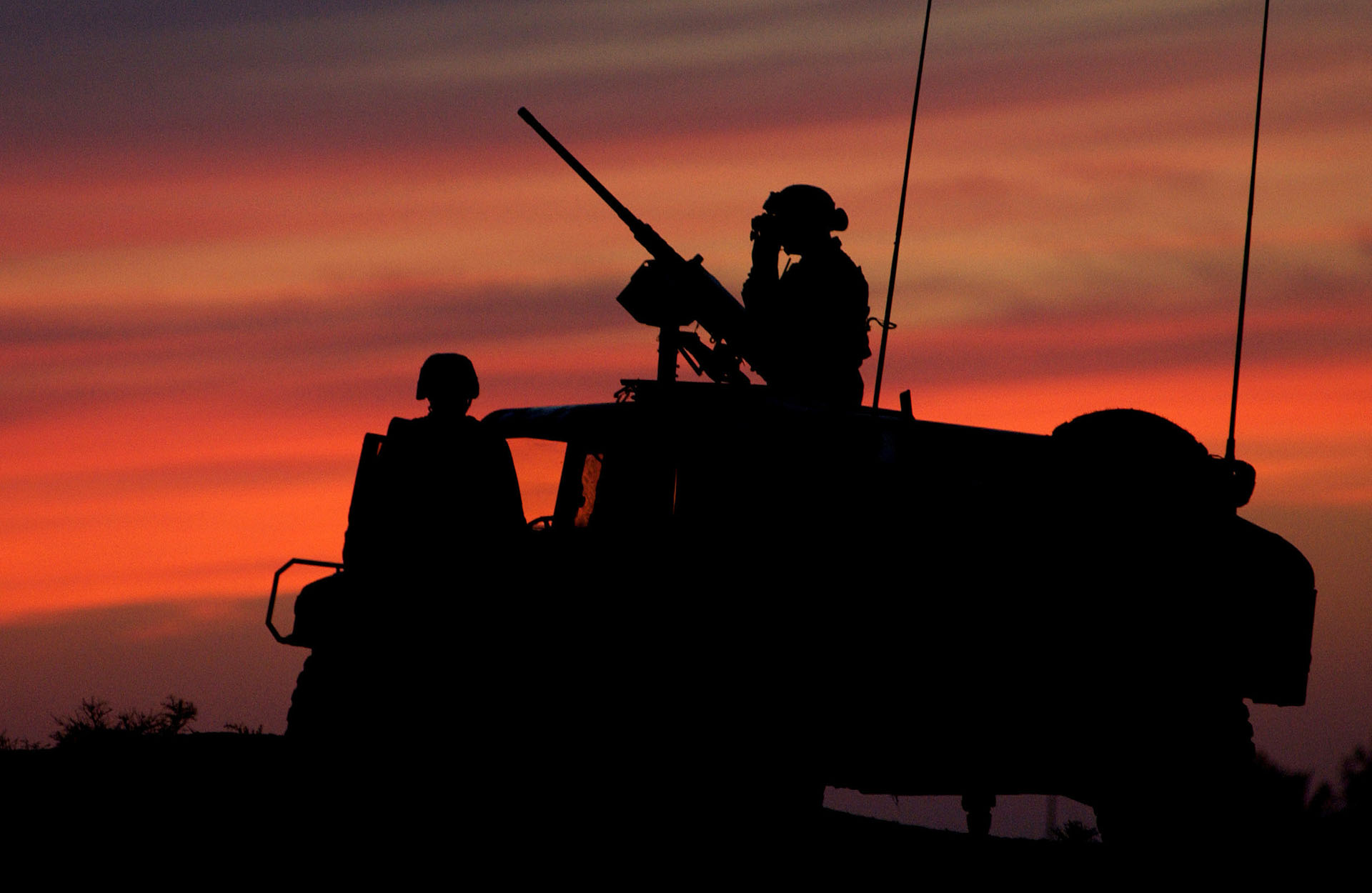 army wallpaper Best Army Silhouetted Wallpapers