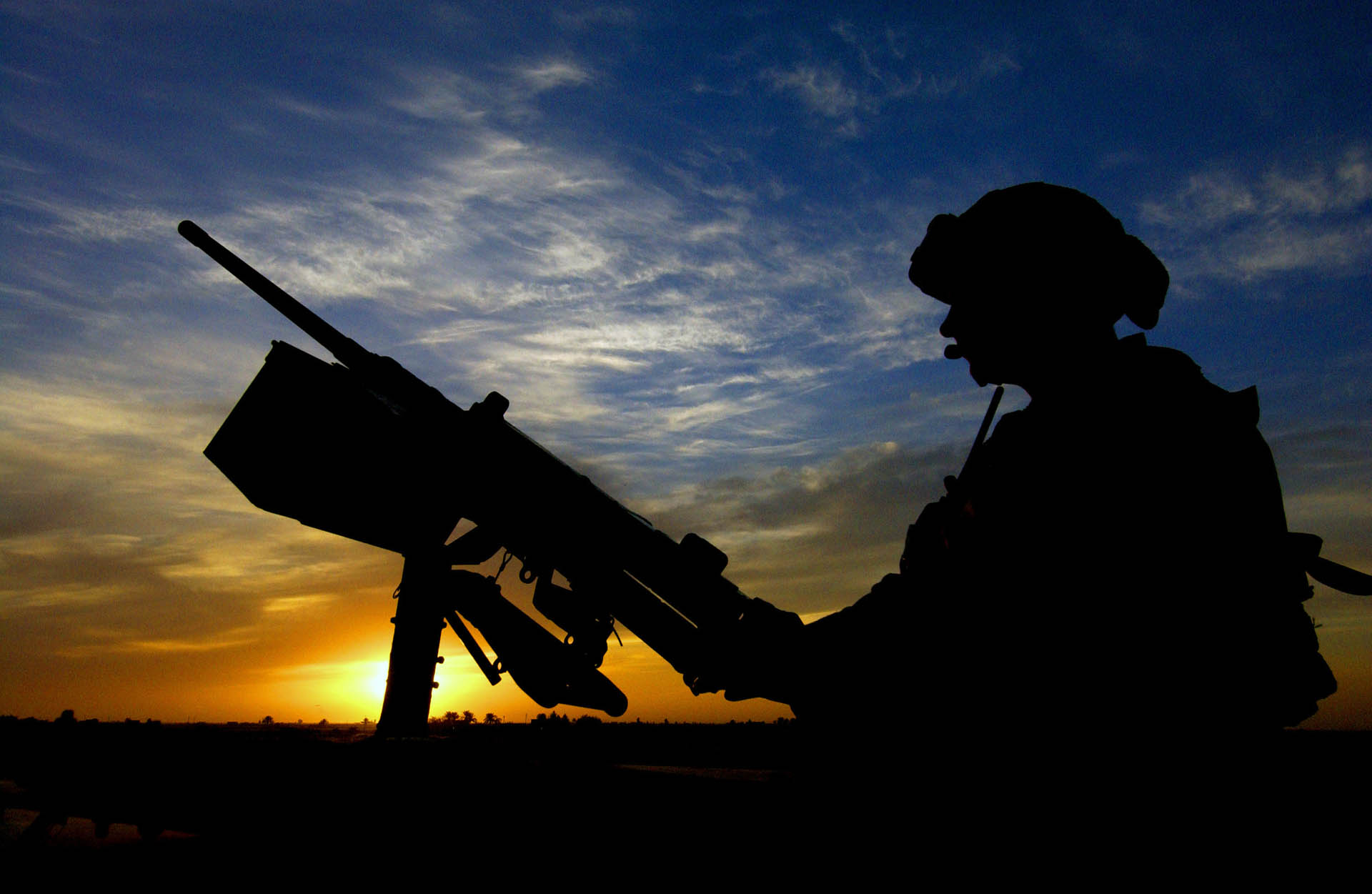 army wallpaper3 Best Army Silhouetted Wallpapers