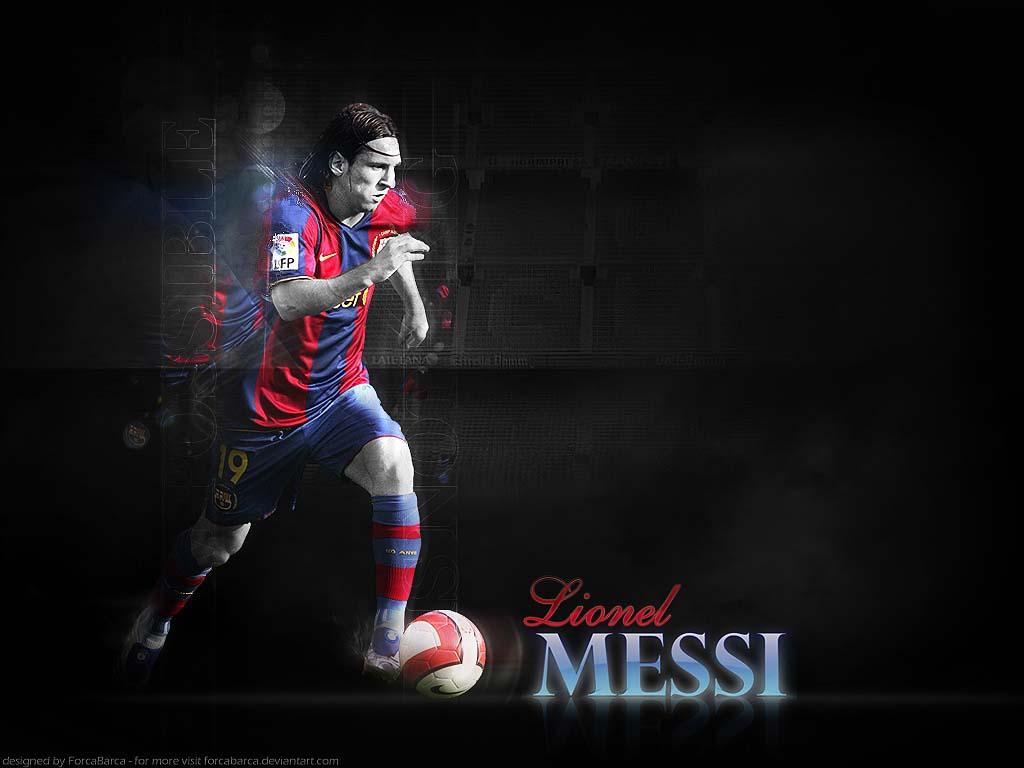 lionel messi wallpaper1 Lionel Messi Desktop Wallpapers