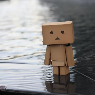 paper robot10 Funny Paper Box Robot Models