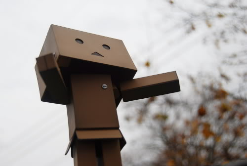 paper robot5 Funny Paper Box Robot Models