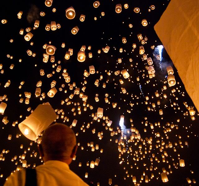 sky lantern How to Launch Sky Flying Lanterns ?