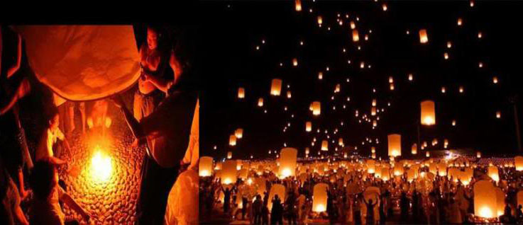 sky lantern5 How to Launch Sky Flying Lanterns ?