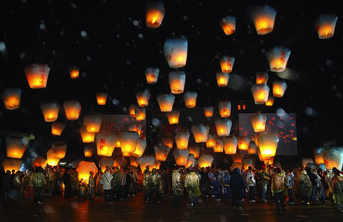 sky lantern9 How to Launch Sky Flying Lanterns ?