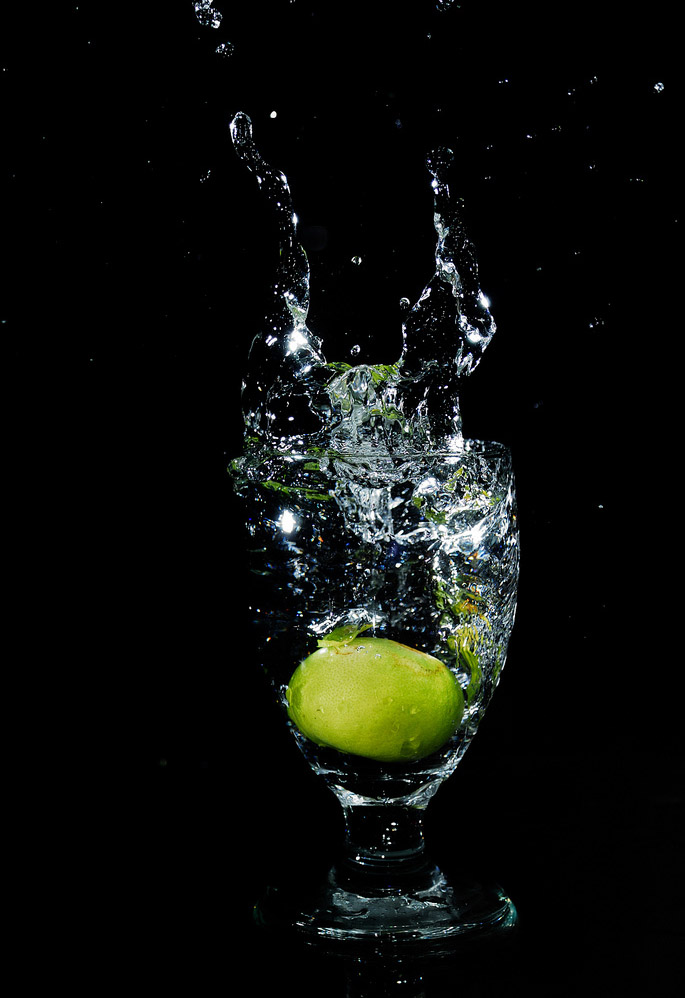 fruit splash1 Just A Fruit Splash into Glass