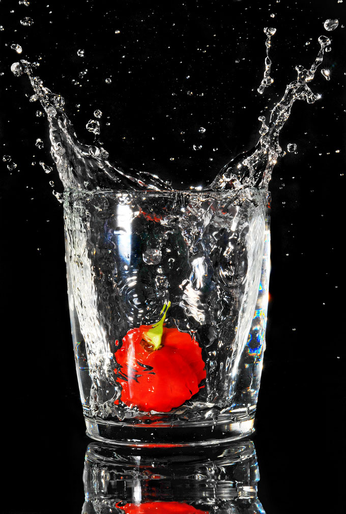 fruit splash11 Just A Fruit Splash into Glass