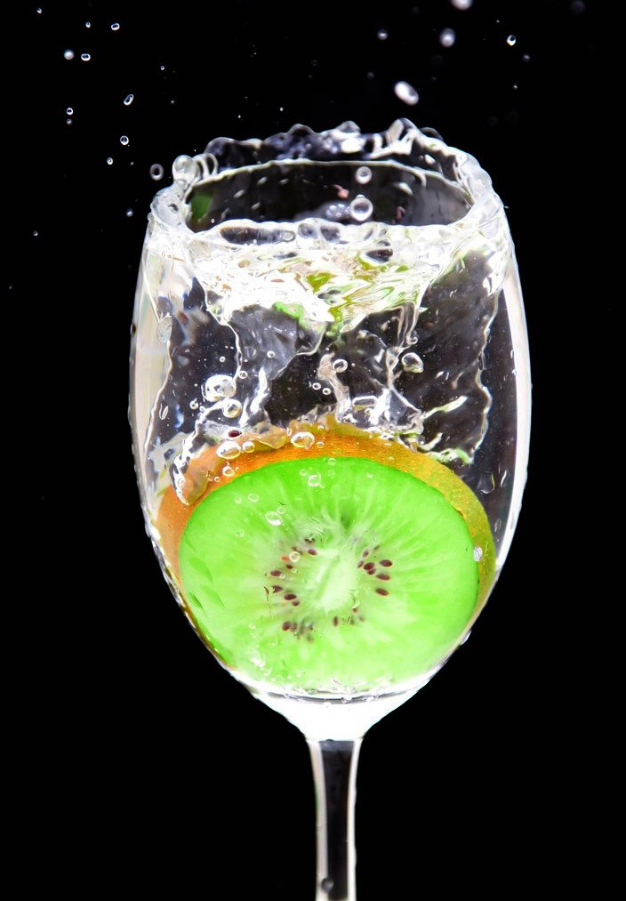 fruit splash2 Just A Fruit Splash into Glass