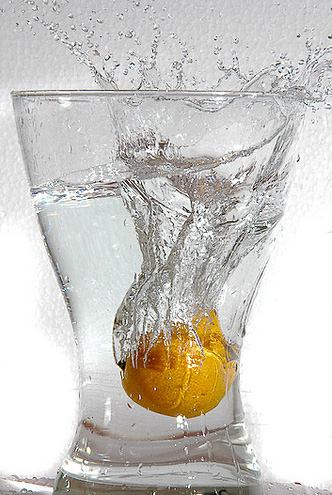 fruit splash9 Just A Fruit Splash into Glass