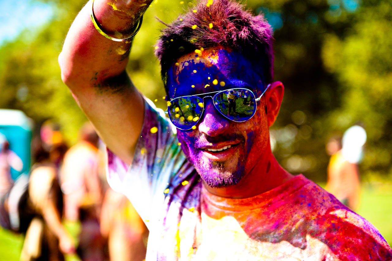 holi festival3 The Most Colorful Holi Festival
