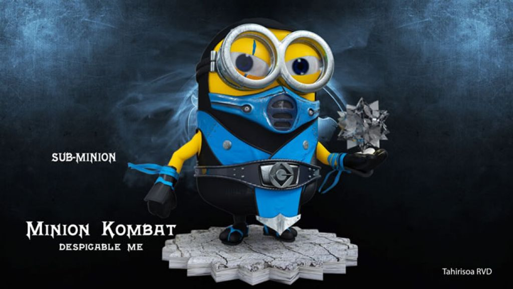 minion11 Movie Heroes as Minions