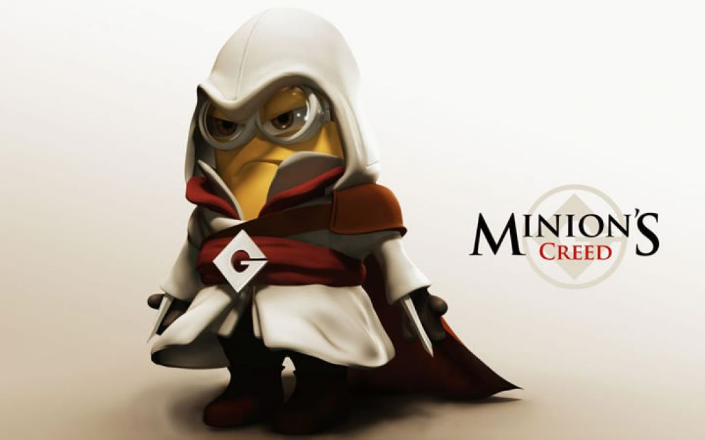 minion17 Movie Heroes as Minions