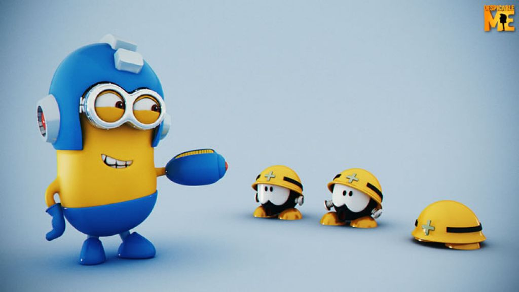 minion18 Movie Heroes as Minions