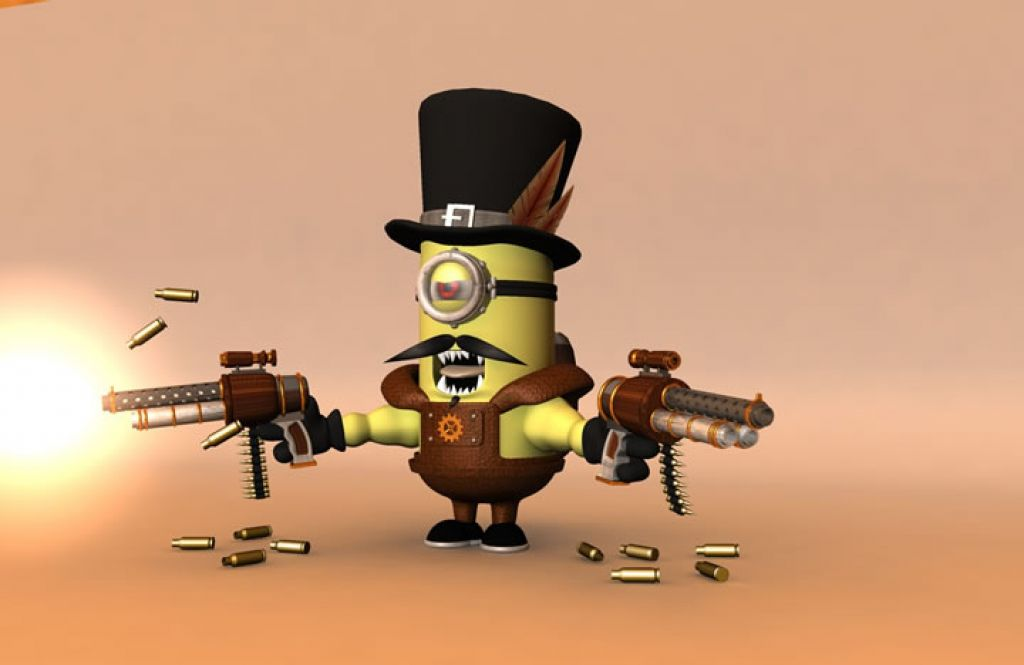 minion20 Movie Heroes as Minions