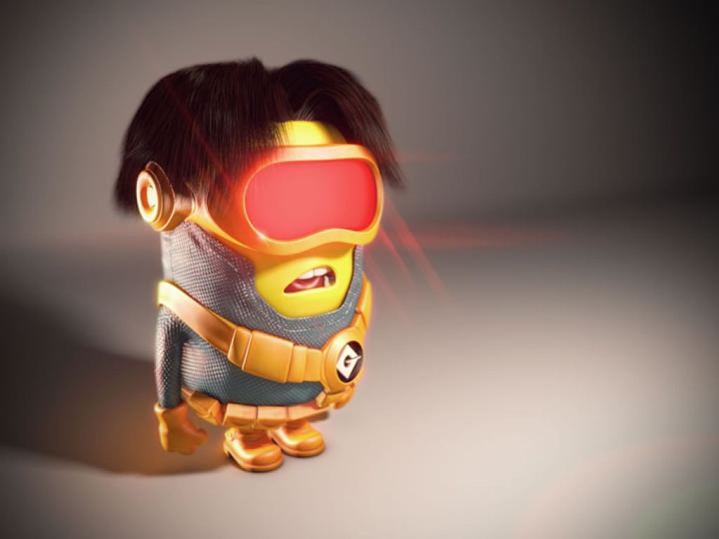 minion21 Movie Heroes as Minions