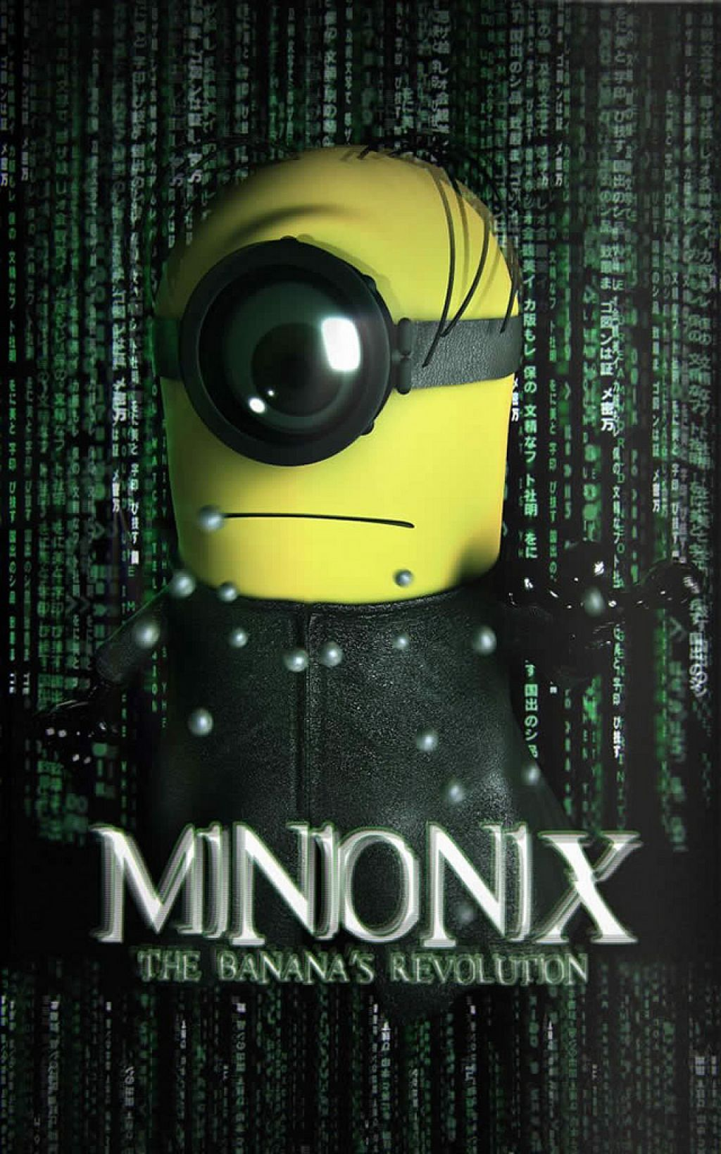 minion8 Movie Heroes as Minions