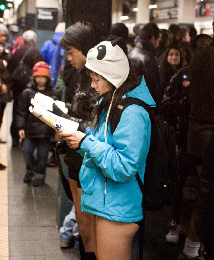 no pants ride1 No Pants Subway Ride 2011 in NYC