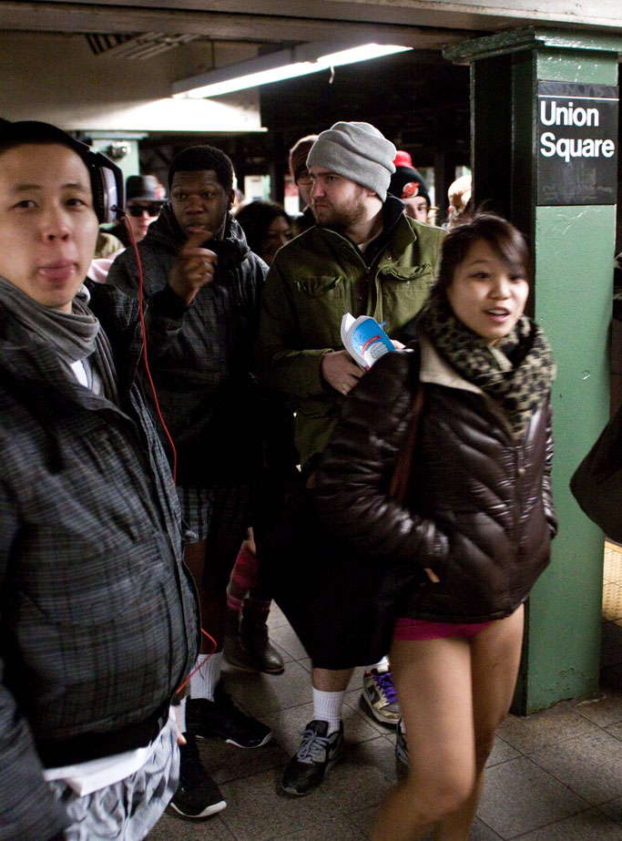 no pants ride12 No Pants Subway Ride 2011 in NYC