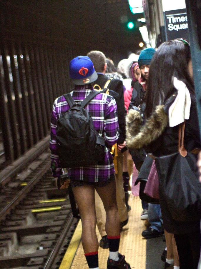 no pants ride13 No Pants Subway Ride 2011 in NYC