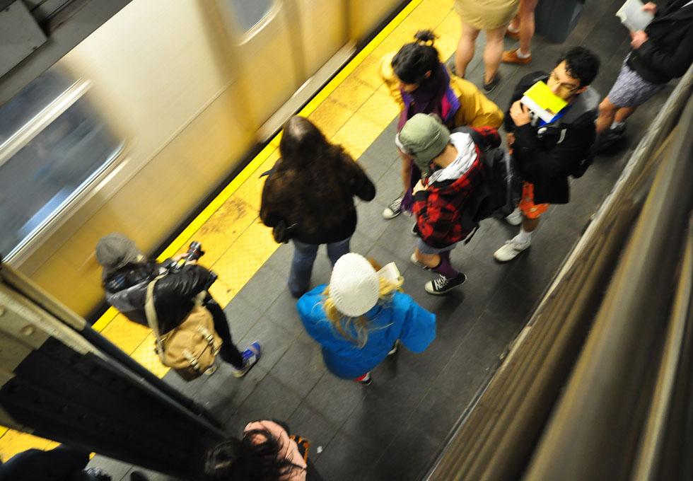 no pants ride3 No Pants Subway Ride 2011 in NYC