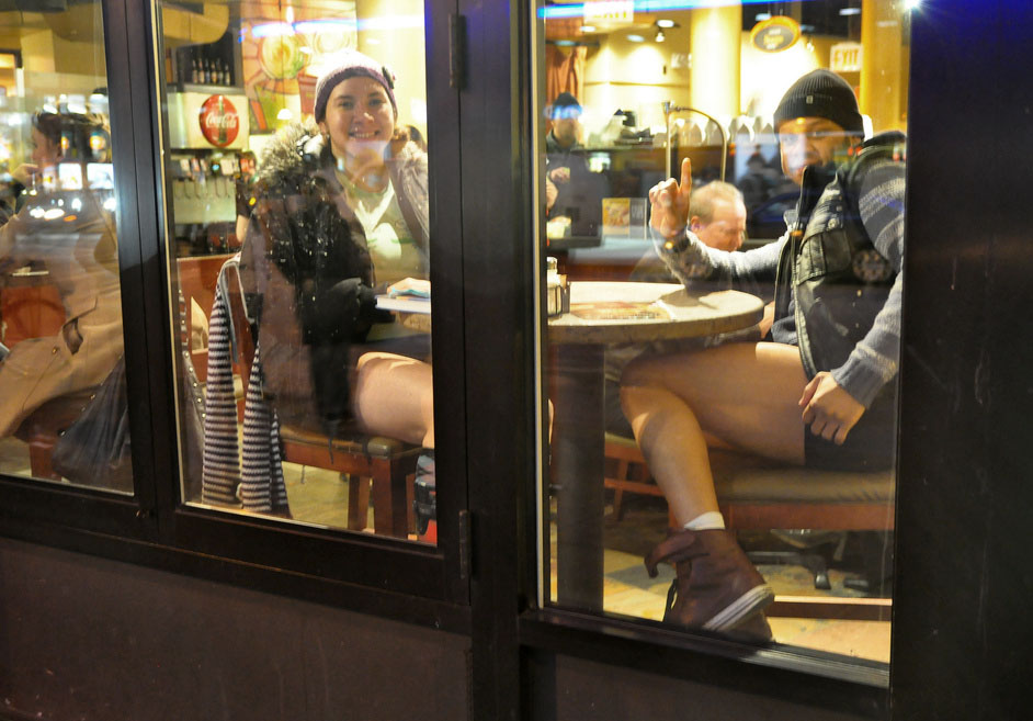 no pants ride6 No Pants Subway Ride 2011 in NYC