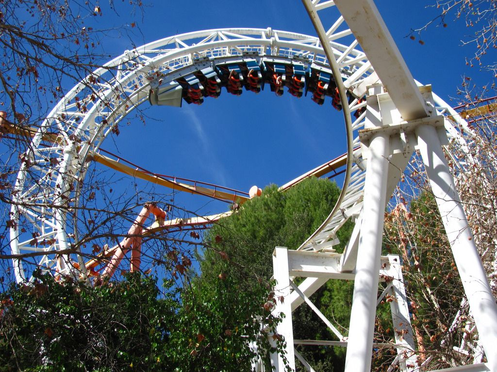 six flags magic mountain4 Theme Park   Six Flags Magic Mountain