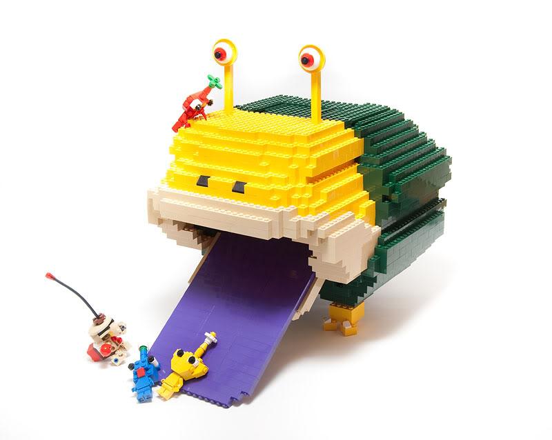 lego minifigures16 Weird Lego Creatures