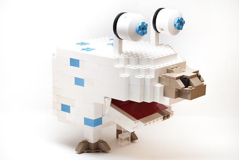 lego minifigures18 Weird Lego Creatures