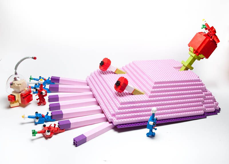 lego minifigures3 Weird Lego Creatures