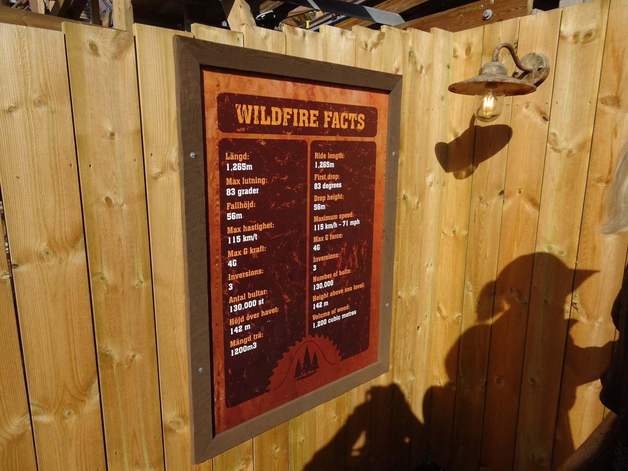 wildfire10 Wildfire   Fastest Wooden Coaster in Europe