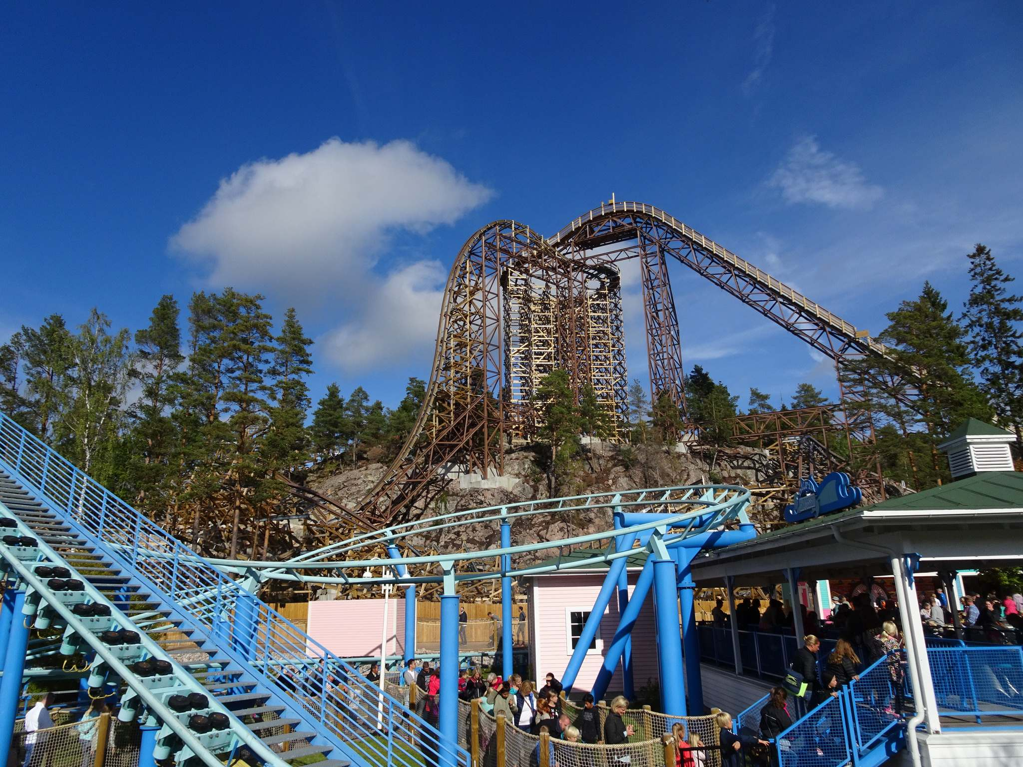 wildfire2 Wildfire   Fastest Wooden Coaster in Europe