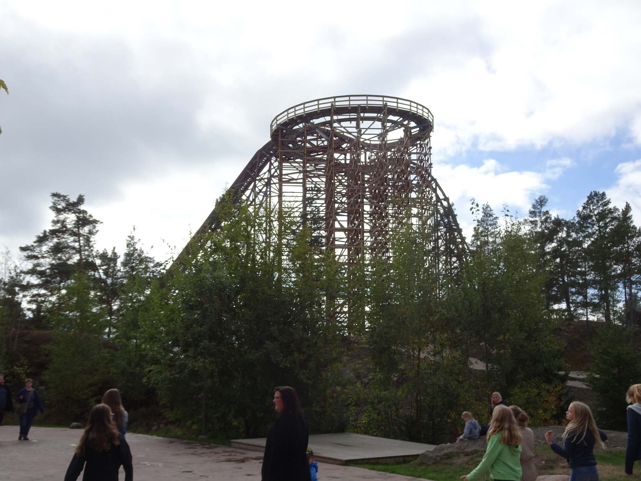 wildfire3 Wildfire   Fastest Wooden Coaster in Europe