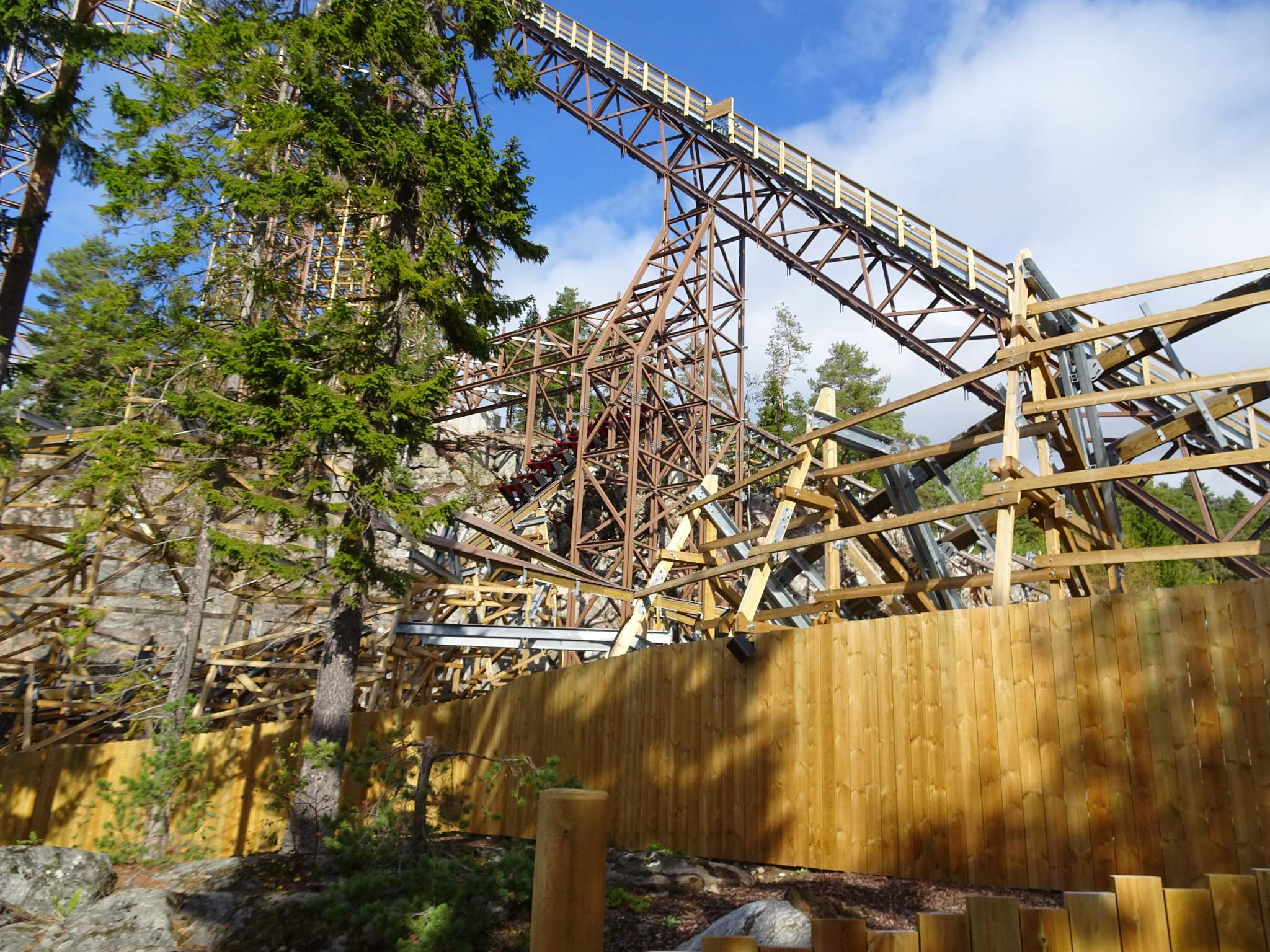 wildfire4 Wildfire   Fastest Wooden Coaster in Europe