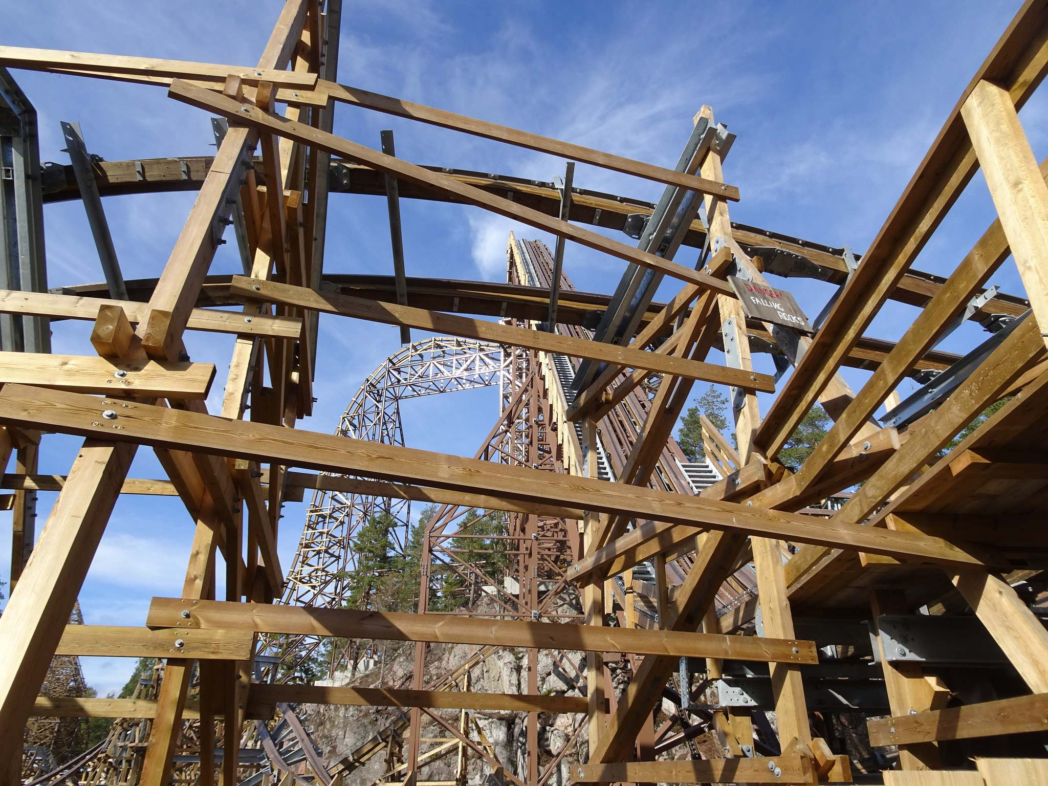 wildfire6 Wildfire   Fastest Wooden Coaster in Europe