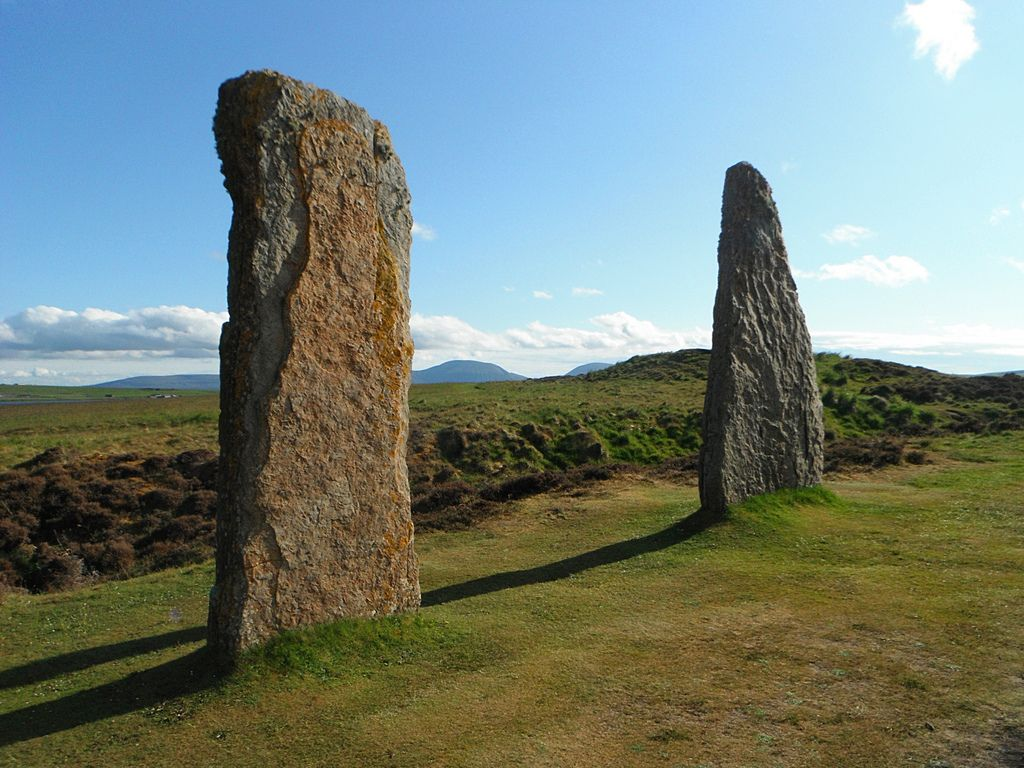ring of brodgar Ancient sites   Ring of Brodgar in Ornkey