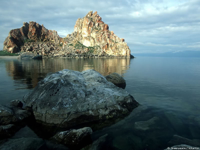 lake baikal3 The Baikal is the Deepest Lake in the World