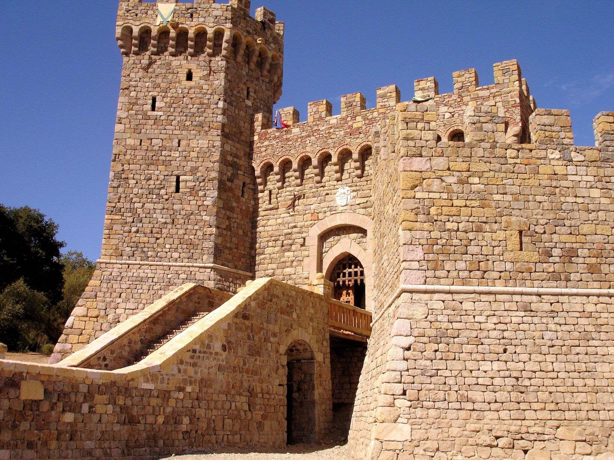 castello di amorosa1 Castello di Amorosa Winery in Napa Valley, California