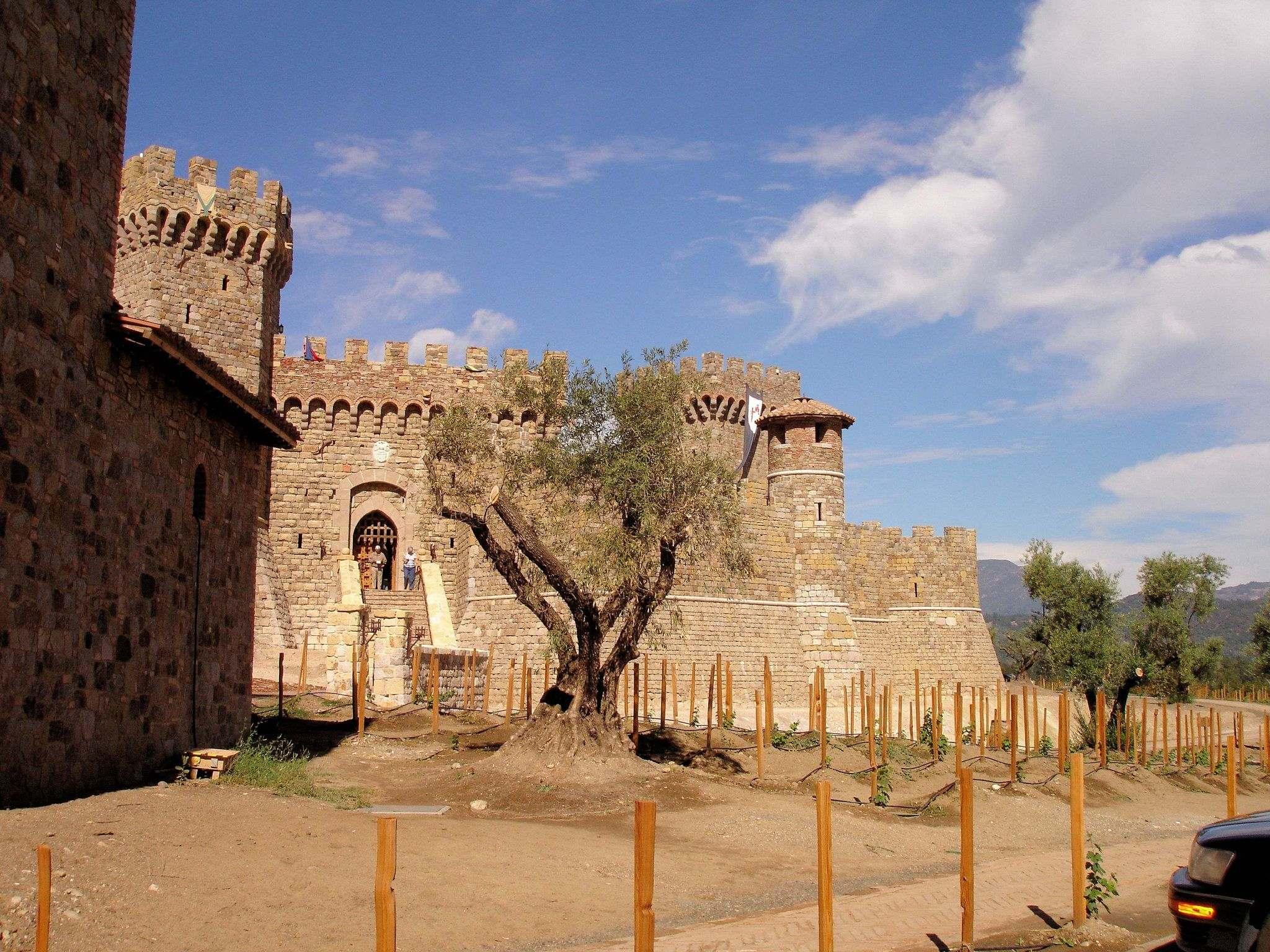 castello di amorosa10 Castello di Amorosa Winery in Napa Valley, California