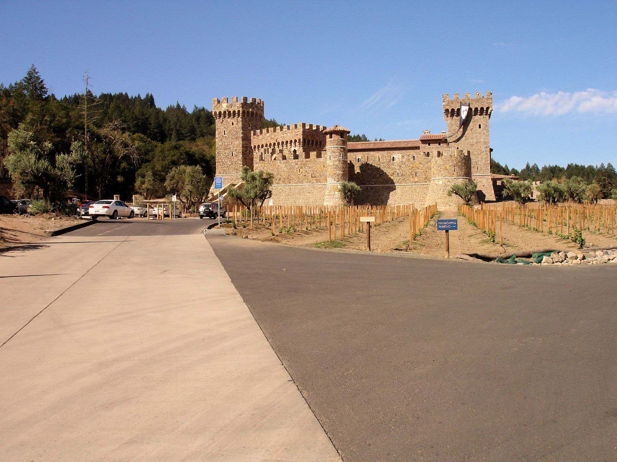 castello di amorosa11 Castello di Amorosa Winery in Napa Valley, California