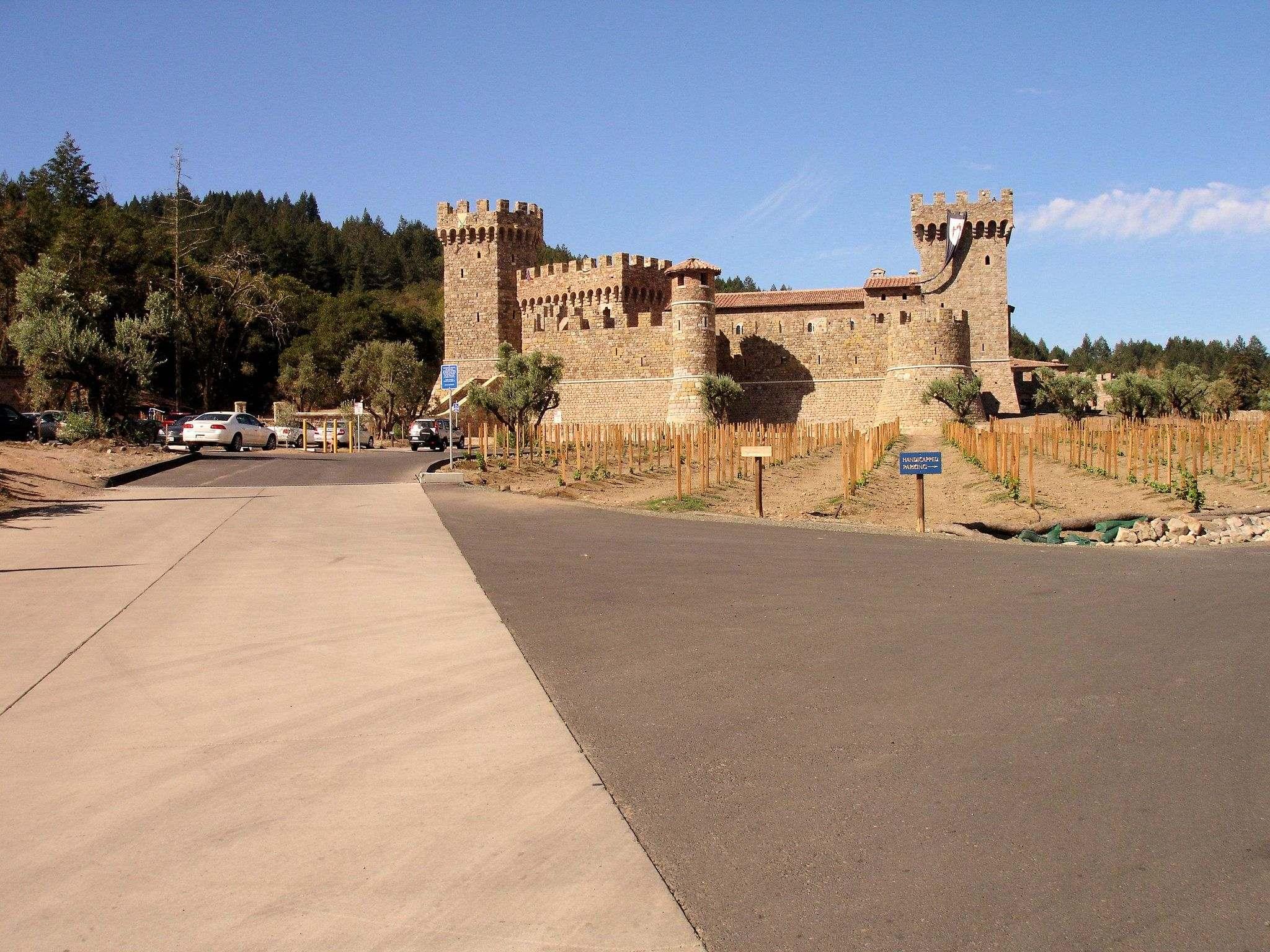 castello di amorosa11 Castello di Amorosa Winery in Napa Valley, California