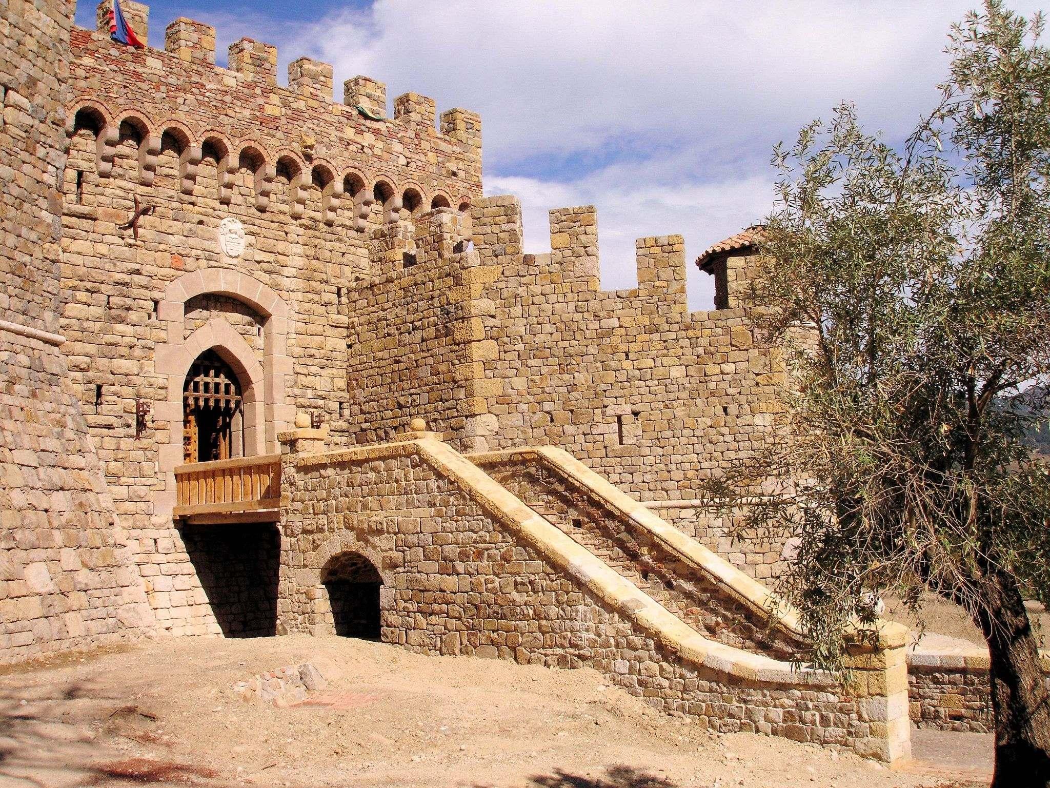 castello di amorosa2 Castello di Amorosa Winery in Napa Valley, California