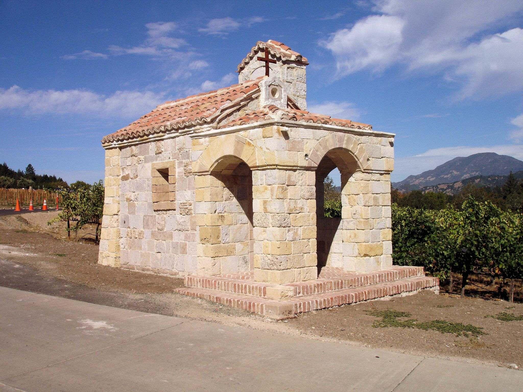 castello di amorosa5 Castello di Amorosa Winery in Napa Valley, California