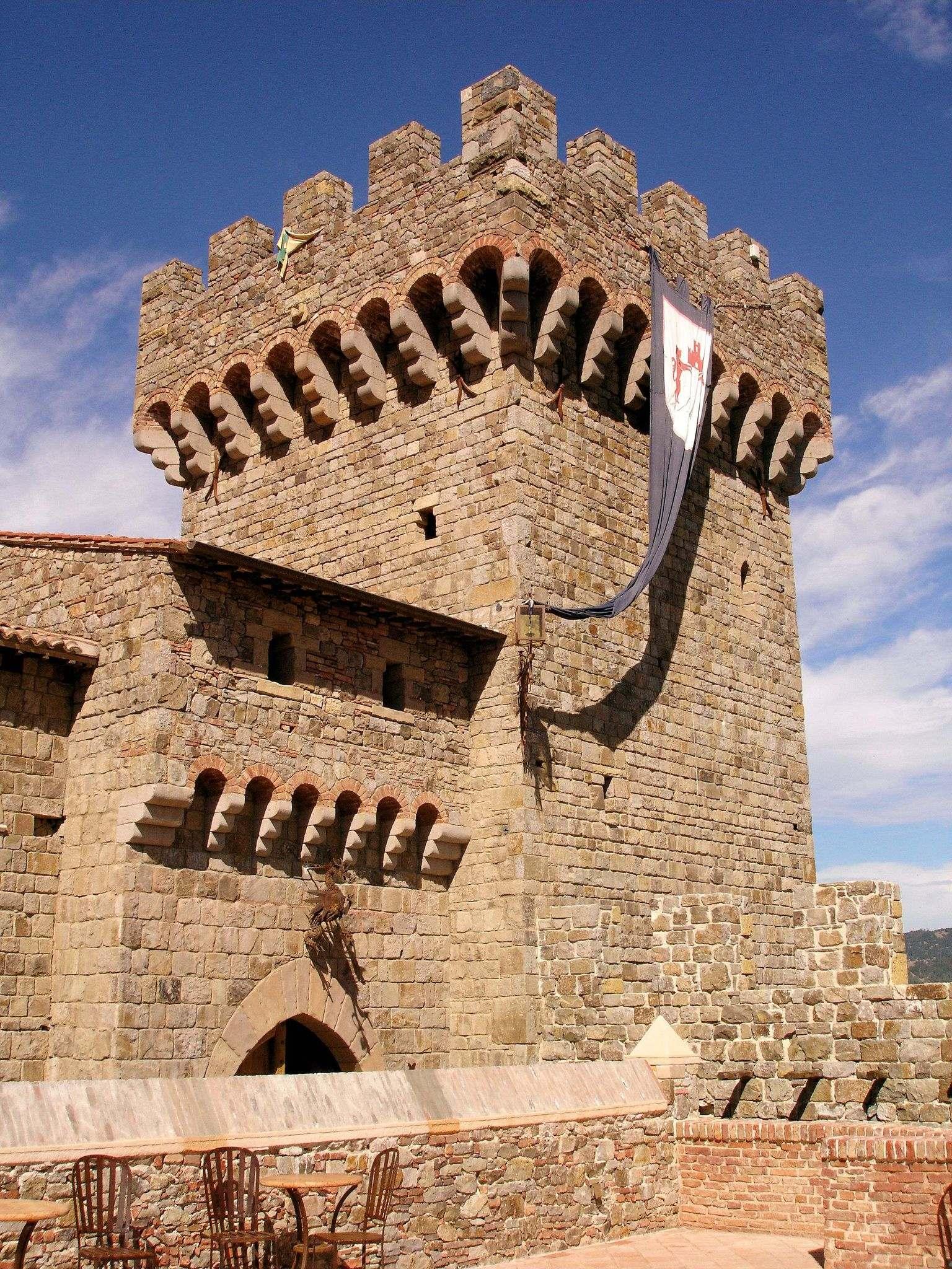 castello di amorosa6 Castello di Amorosa Winery in Napa Valley, California