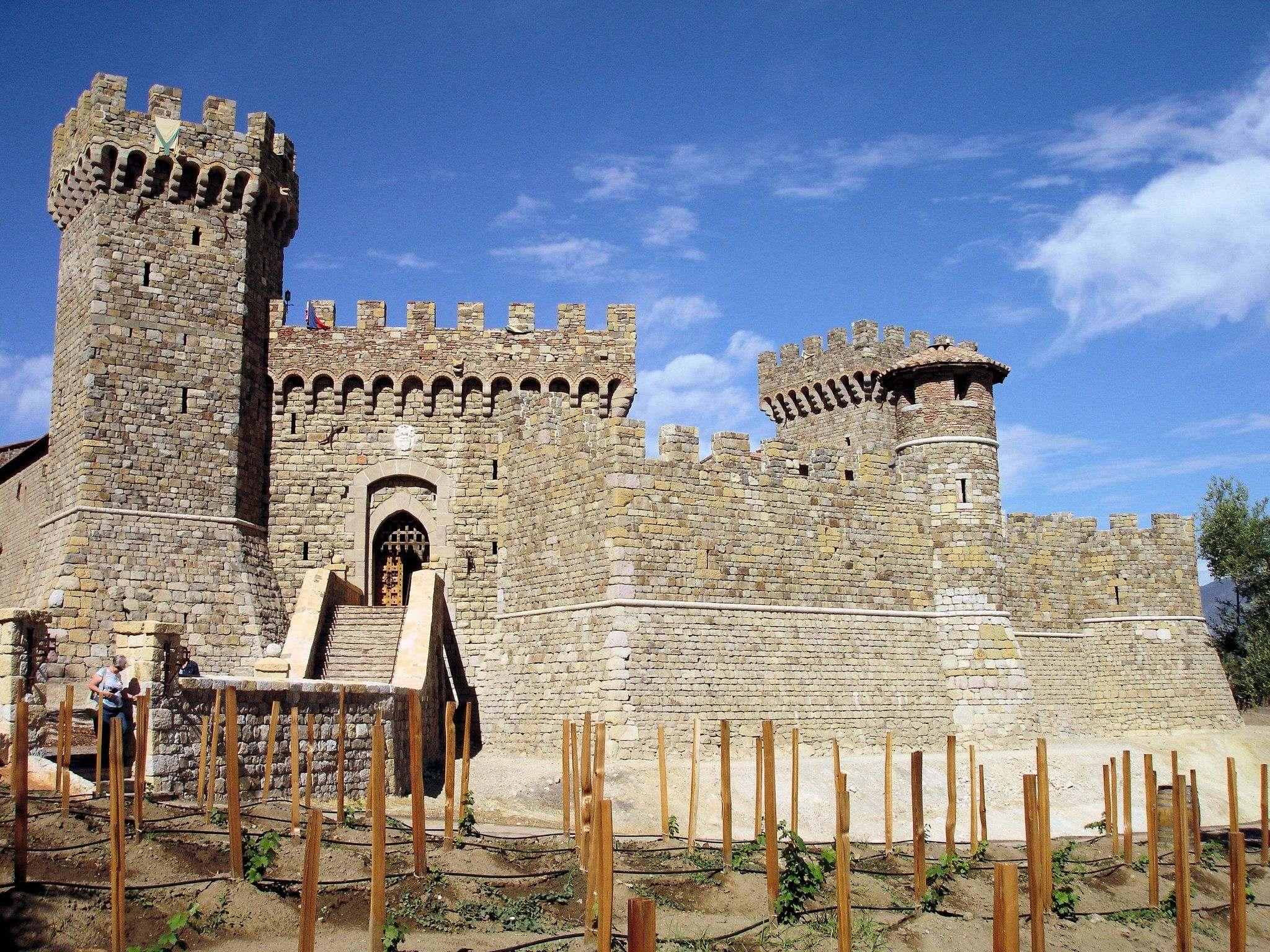castello di amorosa7 Castello di Amorosa Winery in Napa Valley, California