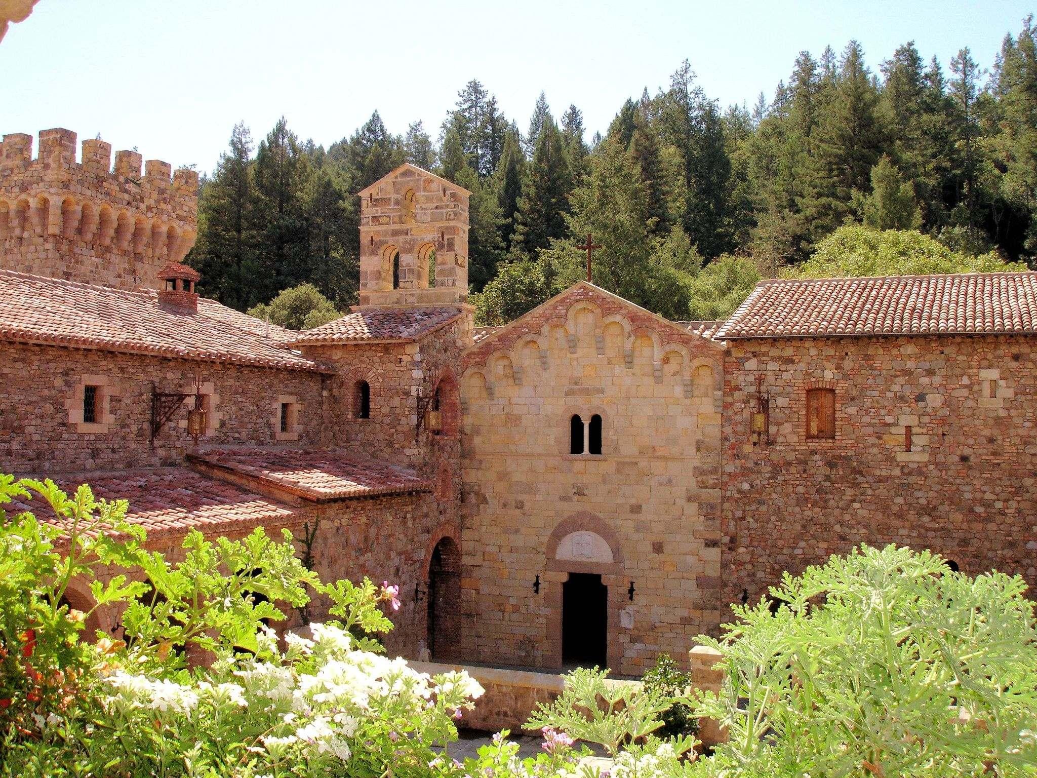 castello di amorosa9 Castello di Amorosa Winery in Napa Valley, California
