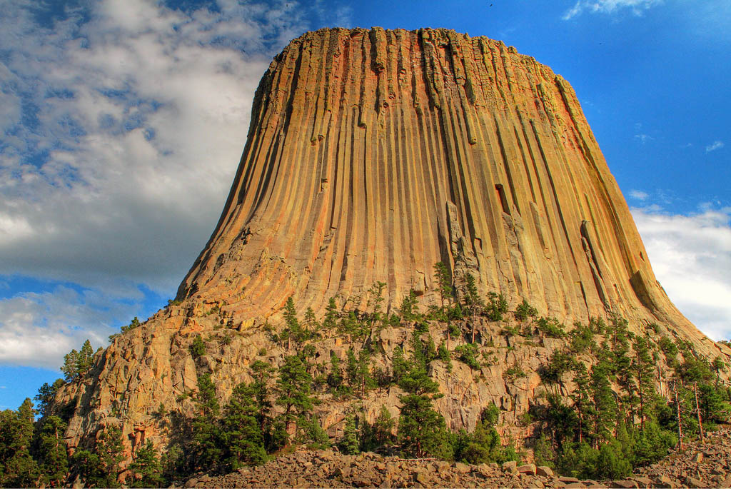 devils tower Devils Tower National Monument in Northeast Wyoming
