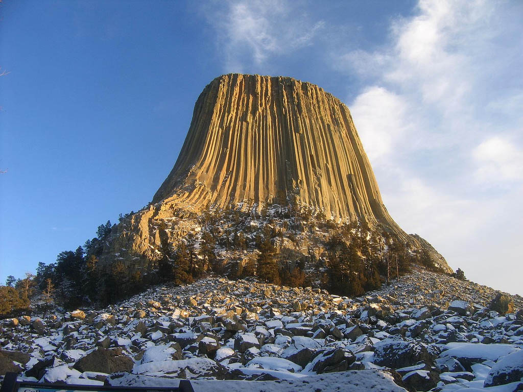 devils tower10 Devils Tower National Monument in Northeast Wyoming