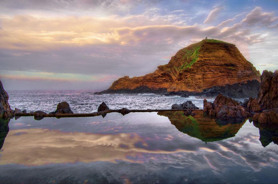 rock pool Most Attractive Rock Pools near Porto Moniz in Madeira, Portugal