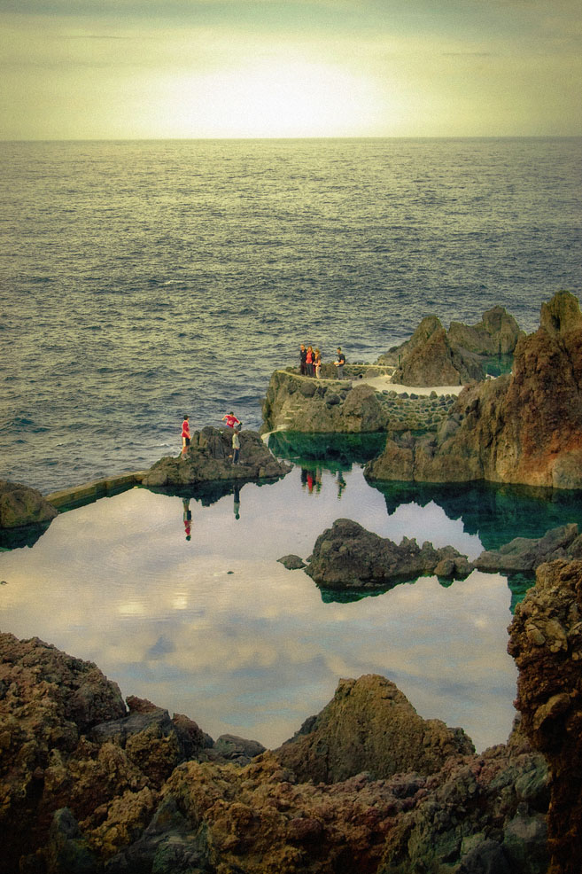 rock pool3 Most Attractive Rock Pools near Porto Moniz in Madeira, Portugal