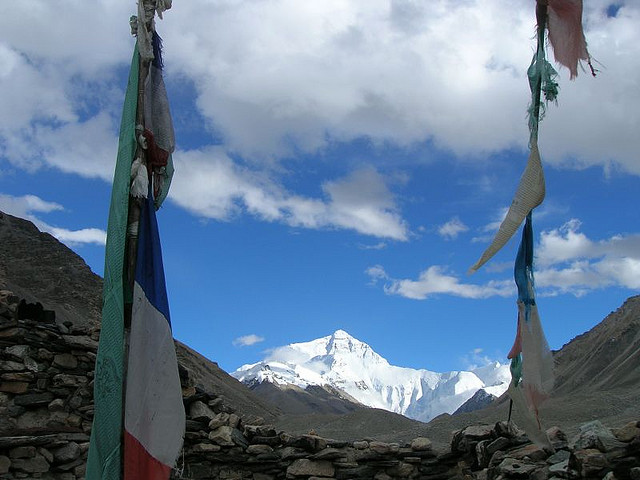 mount everest2 Mount Everest   Highest Mountain and Basecamp in the World